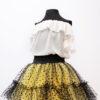 Malika Fashion Bluza Fete din voal
